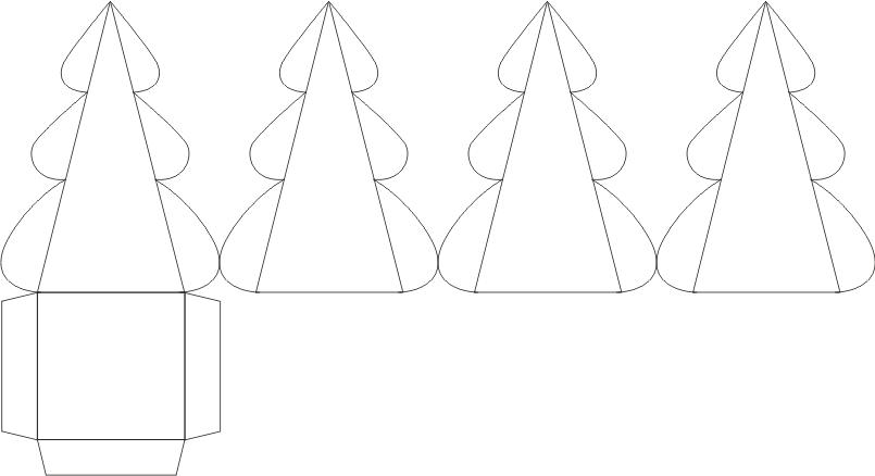 Украшение новогодней коробочки своими руками