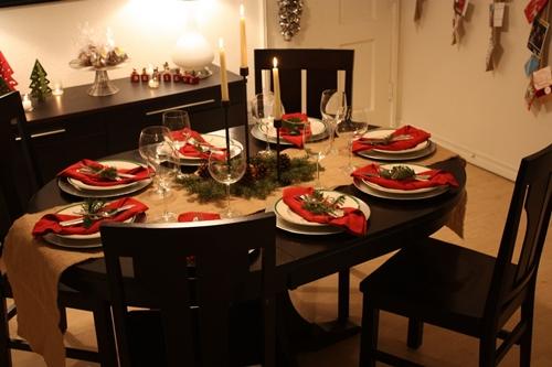 Как украсить стол на Новый год своими руками
